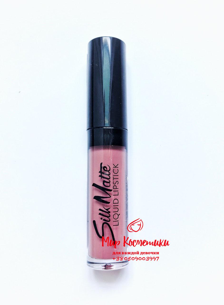 b4334ab918 Жидкая помада Flormar Silk Matte Liquid Lipstick - Мир Косметики